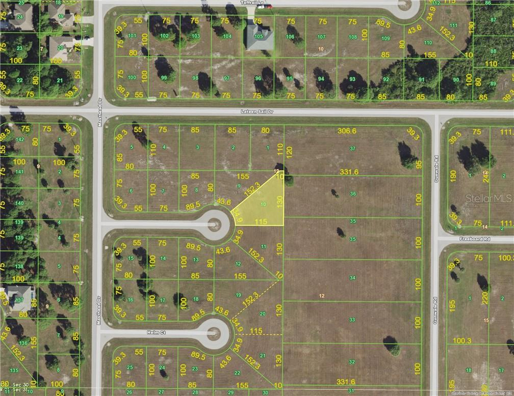 Vacant Land for sale at 10 Bunk Ct, Placida, FL 33946 - MLS Number is C7404420