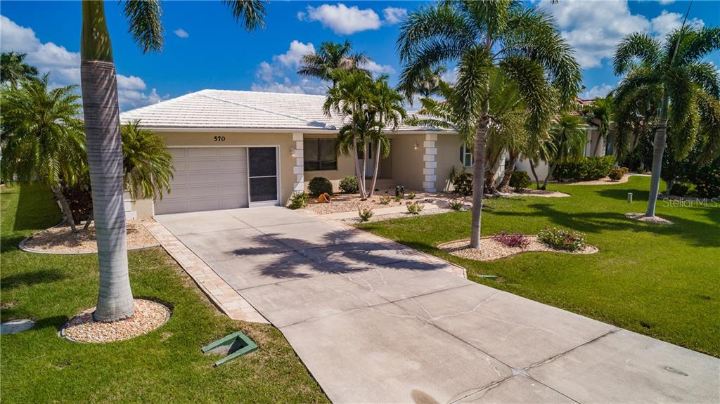 Single Family Home for sale at 570 Madrid Blvd, Punta Gorda, FL 33950 - MLS Number is C7406465