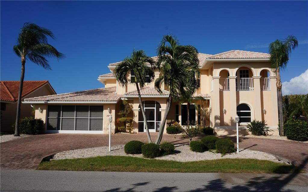 Single Family Home for sale at 2850 Don Quixote Dr, Punta Gorda, FL 33950 - MLS Number is C7408821