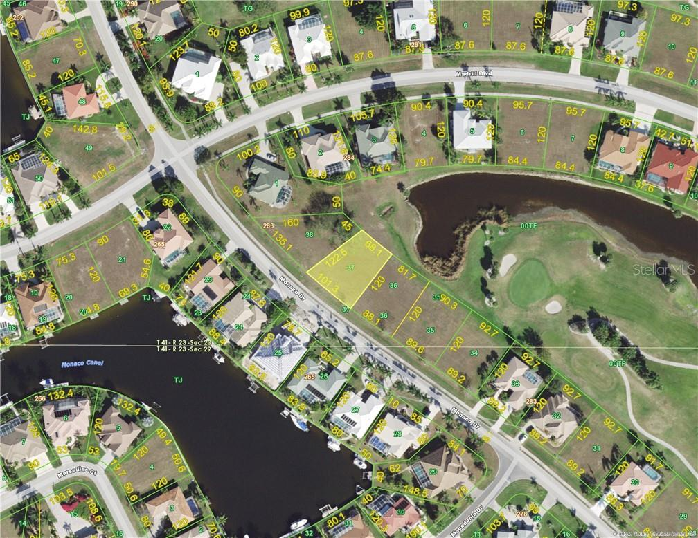 Vacant Land for sale at 615 Monaco Dr, Punta Gorda, FL 33950 - MLS Number is C7409252