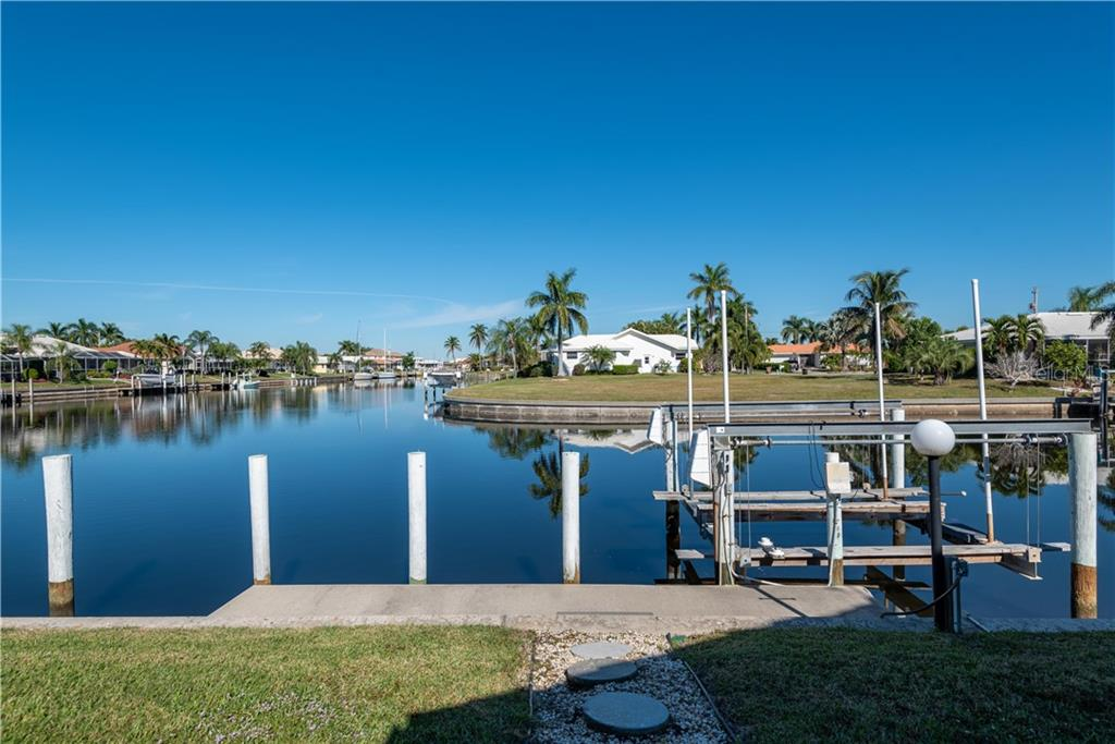 Walkway to Concrete Dock - Single Family Home for sale at 2600 Via Veneto Dr, Punta Gorda, FL 33950 - MLS Number is C7409441