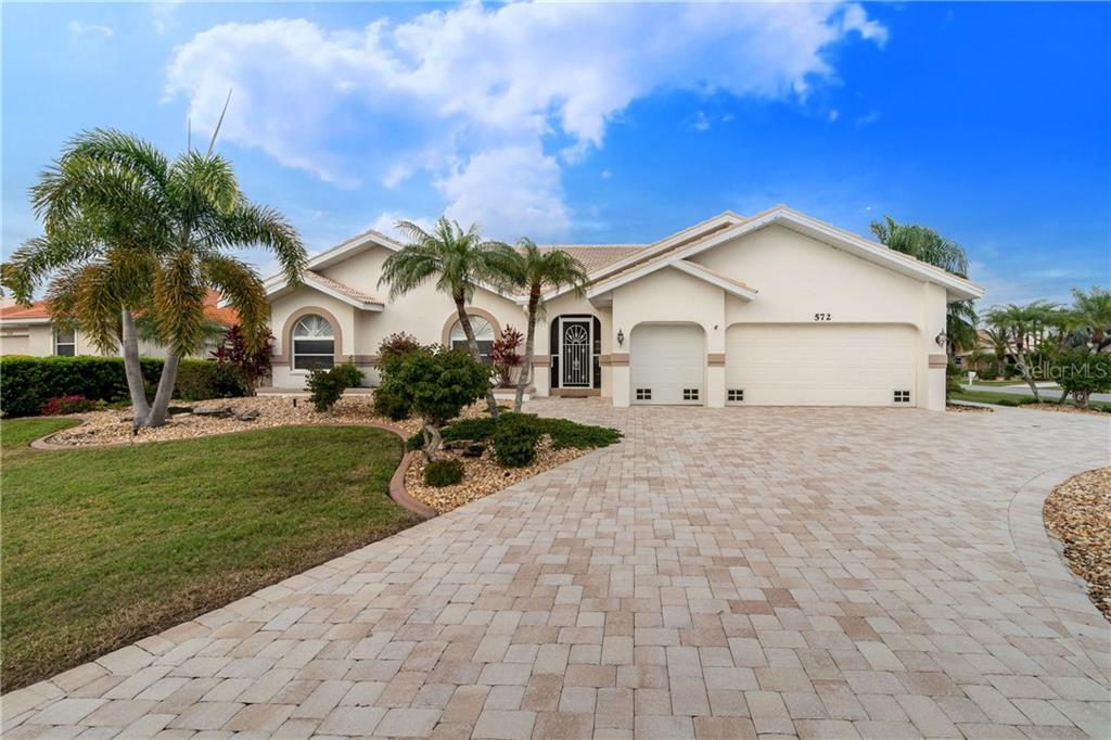 Seller Property Disclosure - Single Family Home for sale at 572 Toulouse Dr, Punta Gorda, FL 33950 - MLS Number is C7411184
