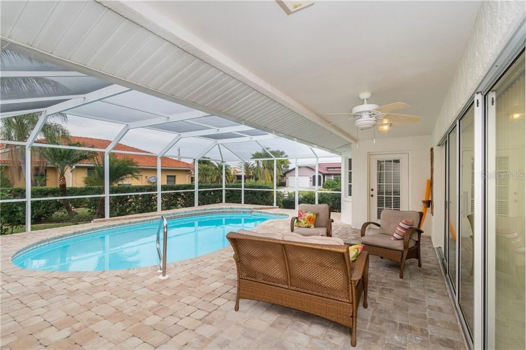Gorgeous, overs-sized brick lanai - Single Family Home for sale at 572 Toulouse Dr, Punta Gorda, FL 33950 - MLS Number is C7411184
