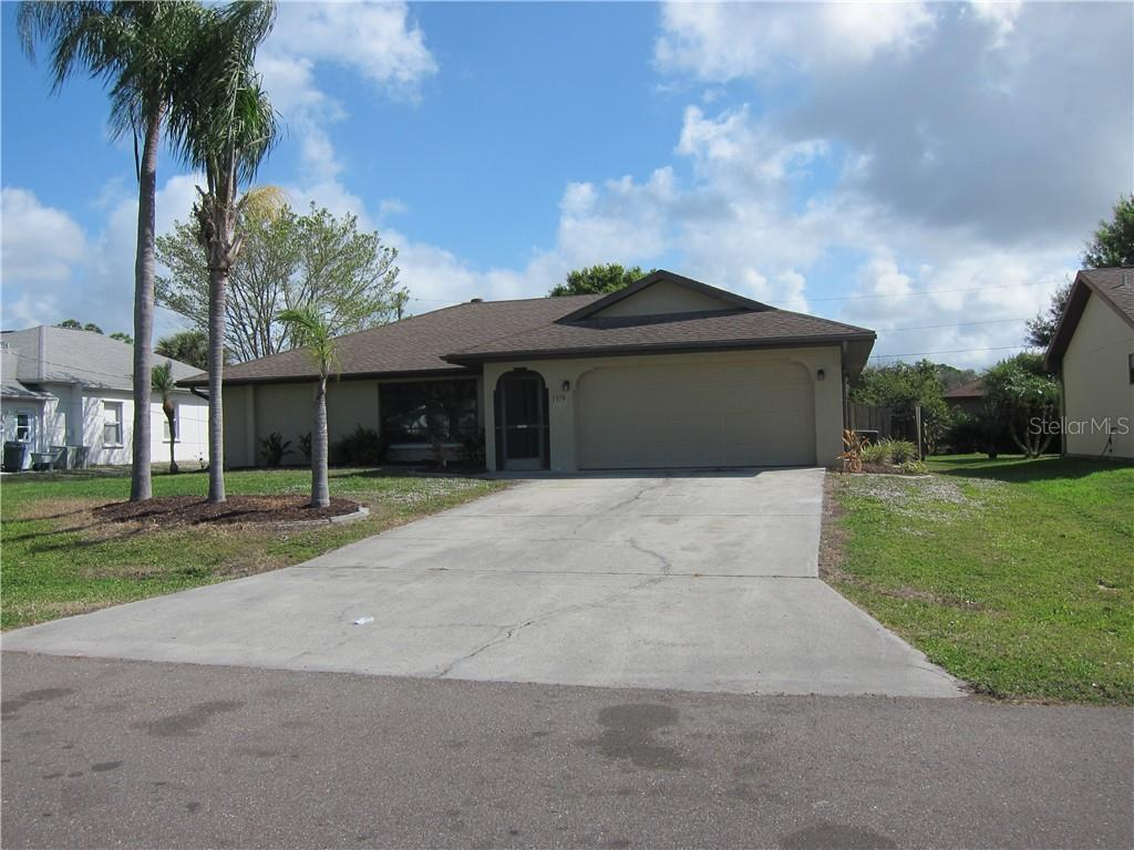 Exterior Front - Single Family Home for sale at 1170 Richter St, Port Charlotte, FL 33952 - MLS Number is C7411803
