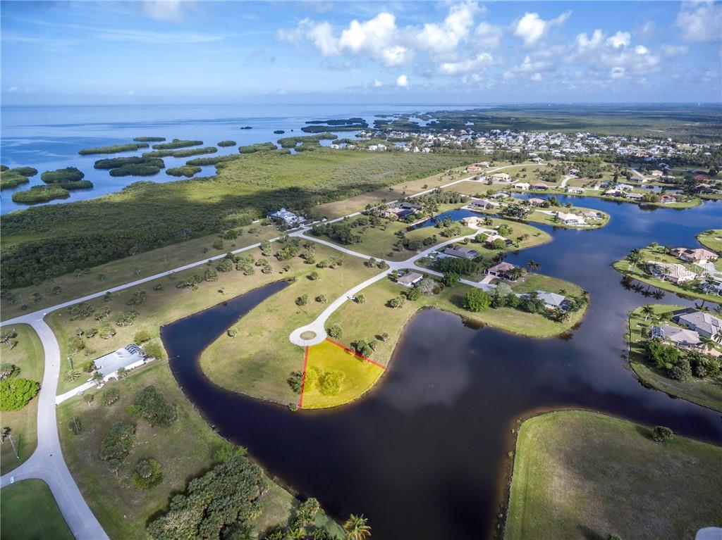 No worry of crowded surroundings here! - Vacant Land for sale at 16308 Cayman Ln, Punta Gorda, FL 33955 - MLS Number is C7413152
