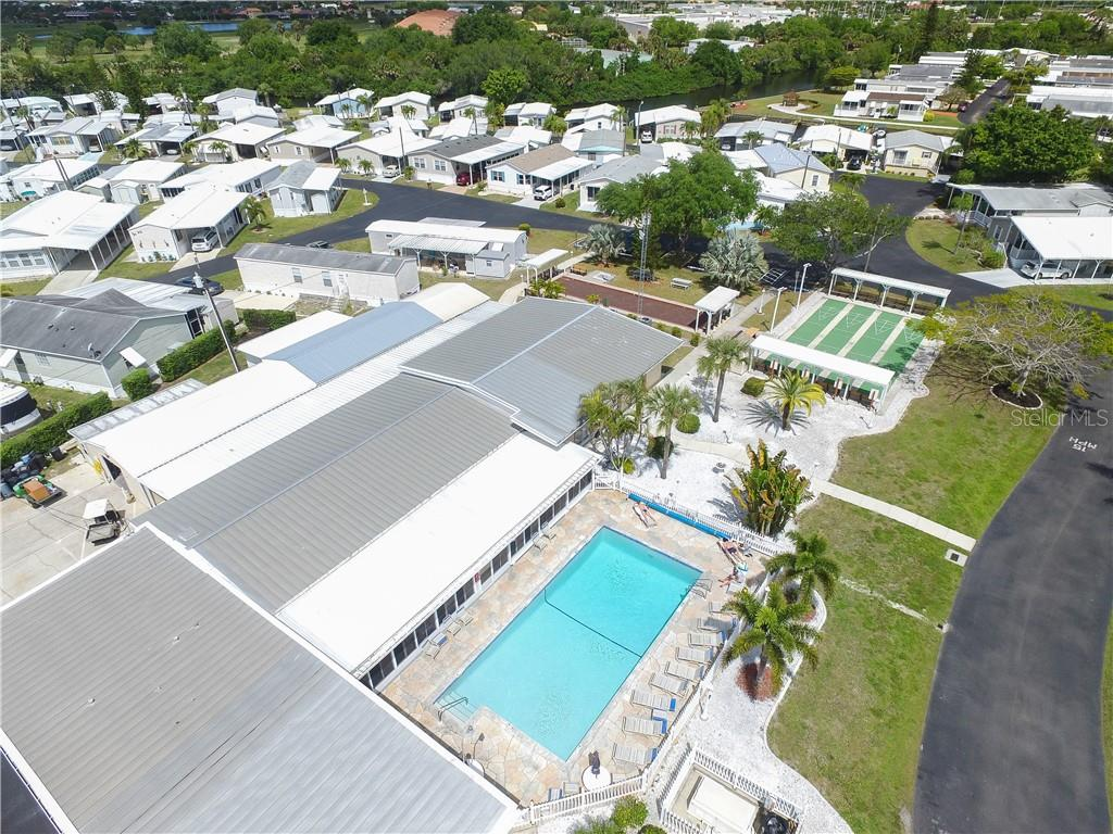 Community Center - Manufactured Home for sale at 10101 Burnt Store Rd #23, Punta Gorda, FL 33950 - MLS Number is C7413977