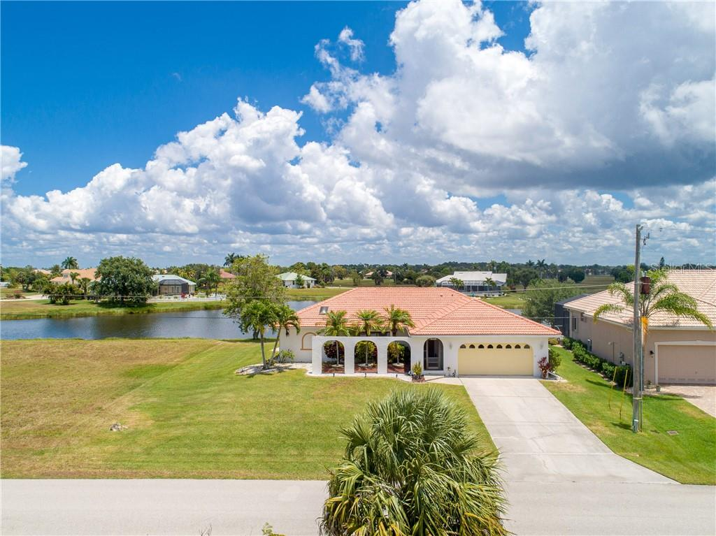 Front View - Single Family Home for sale at 24126 Santa Inez Rd, Punta Gorda, FL 33955 - MLS Number is C7416081