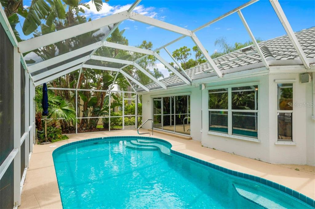 Sliding glass doors open to the main living area, while the windows are from the den/office. - Single Family Home for sale at 1633 Islamorada Blvd, Punta Gorda, FL 33955 - MLS Number is C7418555