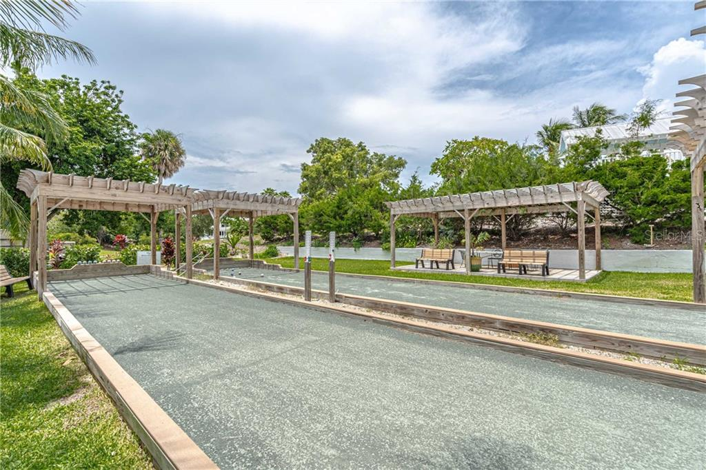Bocce ball courts - Single Family Home for sale at 124 Useppa Is, Captiva, FL 33924 - MLS Number is C7419408