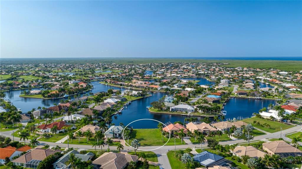 Gorgeous long and intersecting canal view - Vacant Land for sale at 3567 Tripoli Blvd, Punta Gorda, FL 33950 - MLS Number is C7420403