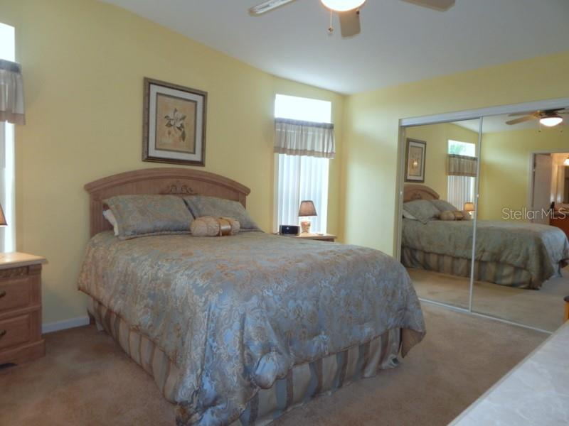 Master bedroom with extra deep closet - Manufactured Home for sale at 31 Freeman Ave, Punta Gorda, FL 33950 - MLS Number is C7420702