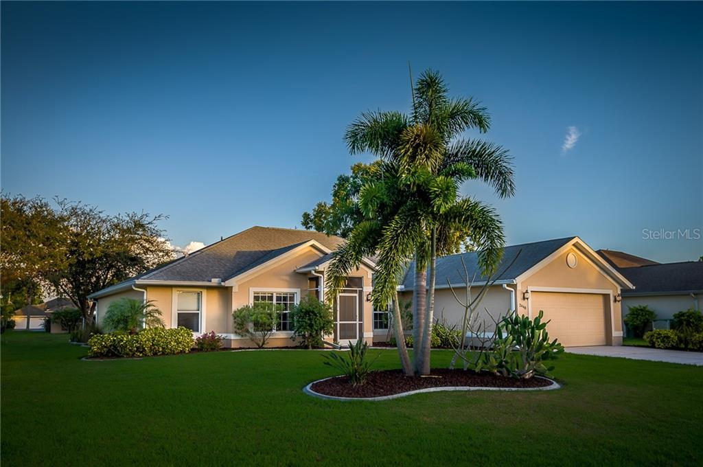 Large on the inside - Single Family Home for sale at 2440 Montpelier Rd, Punta Gorda, FL 33983 - MLS Number is C7421011