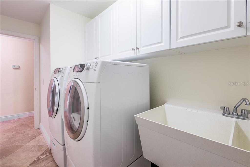 Laundry Room with Sink - Single Family Home for sale at 2440 Montpelier Rd, Punta Gorda, FL 33983 - MLS Number is C7421011