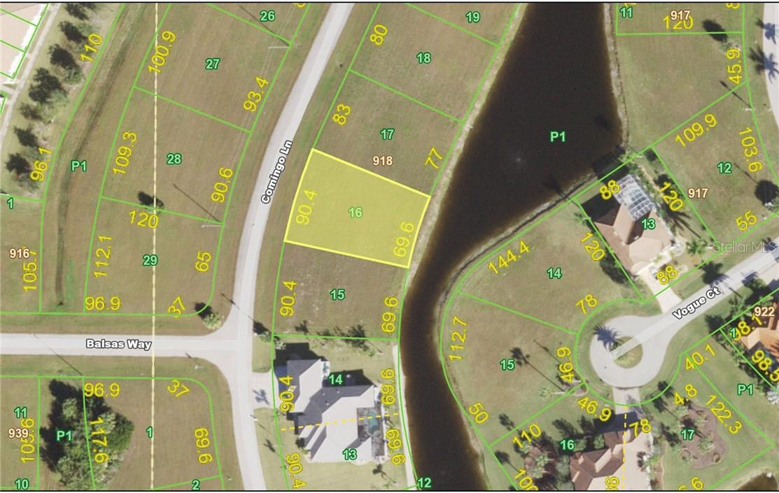 Vacant Land for sale at 17310 Comingo Ln, Punta Gorda, FL 33955 - MLS Number is C7435816