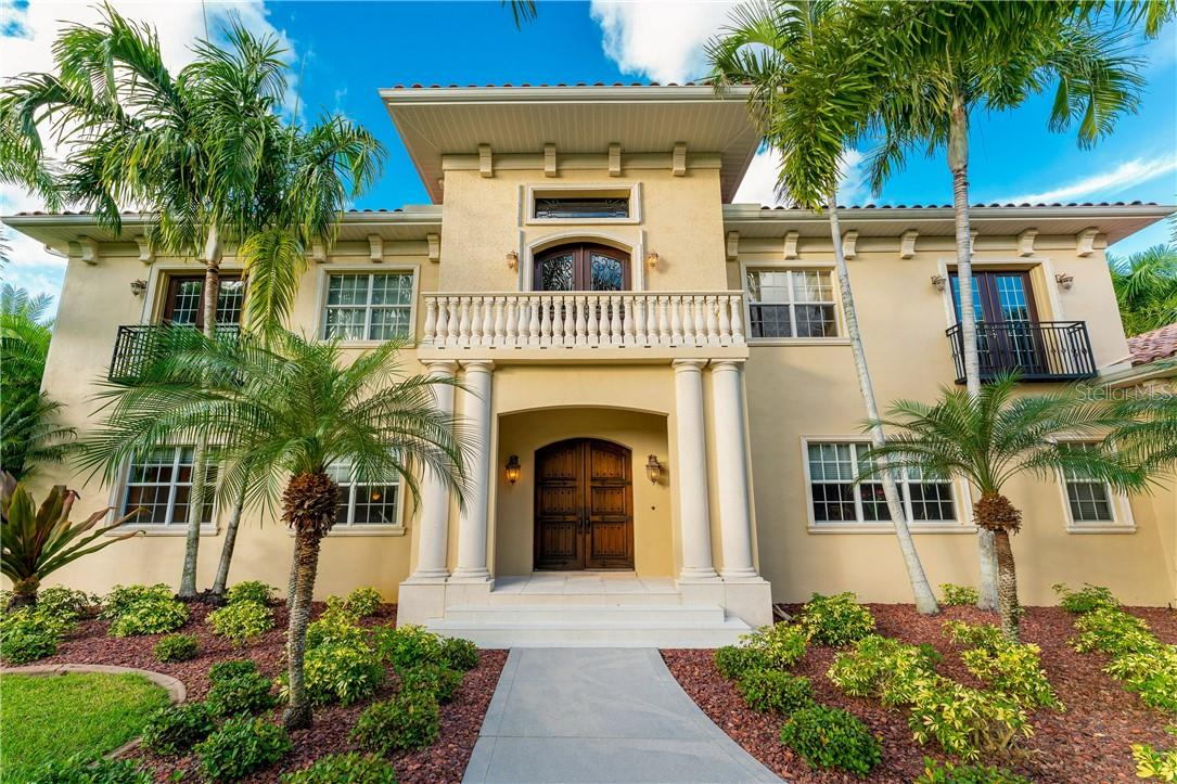 Exquisite design and architectural details grace every inch of the nearly 8,800 square foot, two-story residence - Single Family Home for sale at 7440 Riverside Dr, Punta Gorda, FL 33982 - MLS Number is C7436263