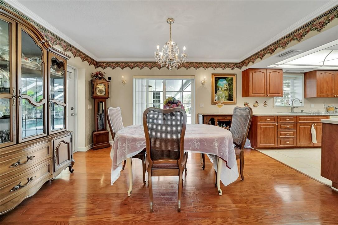 Guest house dining room and kitchen - Single Family Home for sale at 10230 Sw County Road 769, Arcadia, FL 34269 - MLS Number is C7437596