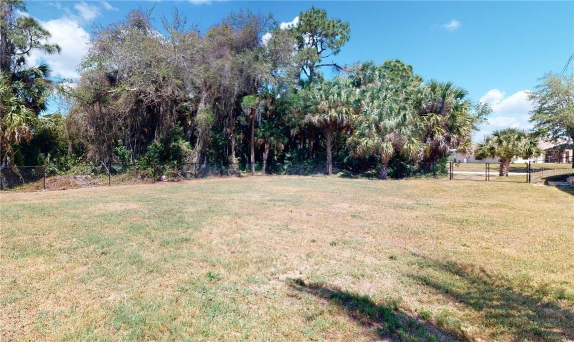 Extra lot with fencing. - Single Family Home for sale at 11905 Florence Ave, Port Charlotte, FL 33981 - MLS Number is C7441003