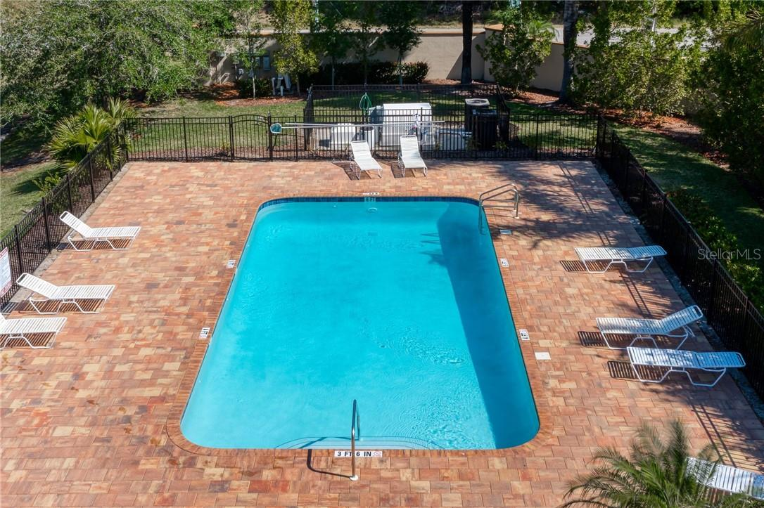 Ariel view of the community pool. - Single Family Home for sale at 2082 Apian Way, Port Charlotte, FL 33953 - MLS Number is C7441465