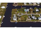 Aerial view of lot location - Vacant Land for sale at 760 Longbeach Ct, Punta Gorda, FL 33950 - MLS Number is C7240704