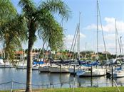 South marina basin is home to a variety of power and sailing vessels. - Condo for sale at 3329 Sunset Key Cir #503, Punta Gorda, FL 33955 - MLS Number is C7406727