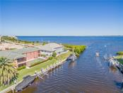 View of the harbor from your lanai (circled). - Condo for sale at 1416 Park Beach Cir #d, Punta Gorda, FL 33950 - MLS Number is C7414590