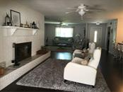 Living Room and Fireplace View - Single Family Home for sale at 1302 Pinebrook Way, Venice, FL 34285 - MLS Number is C7435367