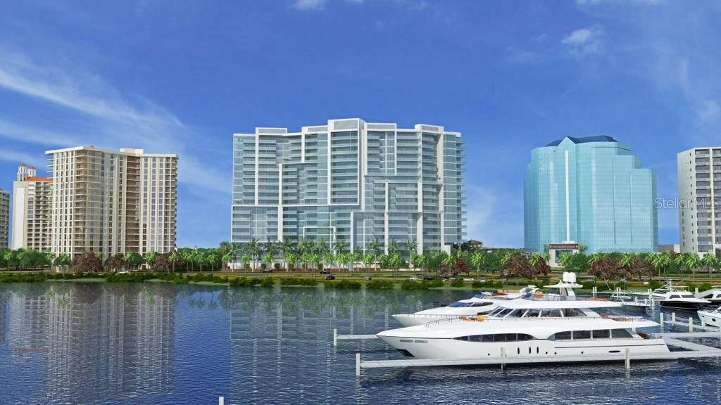 Site Plan - Condo for sale at 1155 N Gulfstream Ave #0301, Sarasota, FL 34236 - MLS Number is A4131819