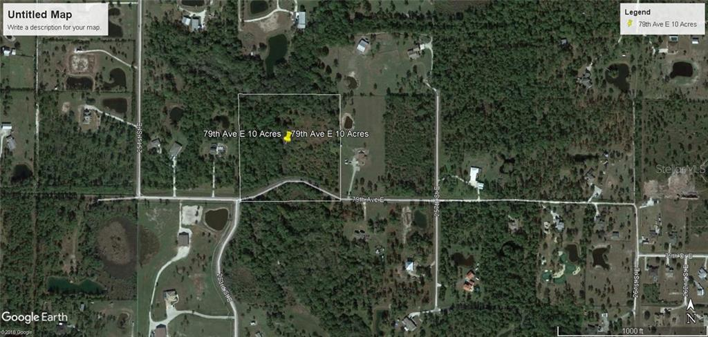 Vacant Land for sale at 79 E 79 Ave E, Myakka City, FL 34251 - MLS Number is A4143388