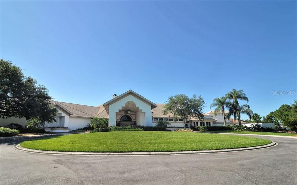 Stoneybrook Golf & Country Club main clubhouse with full service restaurant and pro shop. - Condo for sale at 9630 Club South Cir #6103, Sarasota, FL 34238 - MLS Number is A4166105