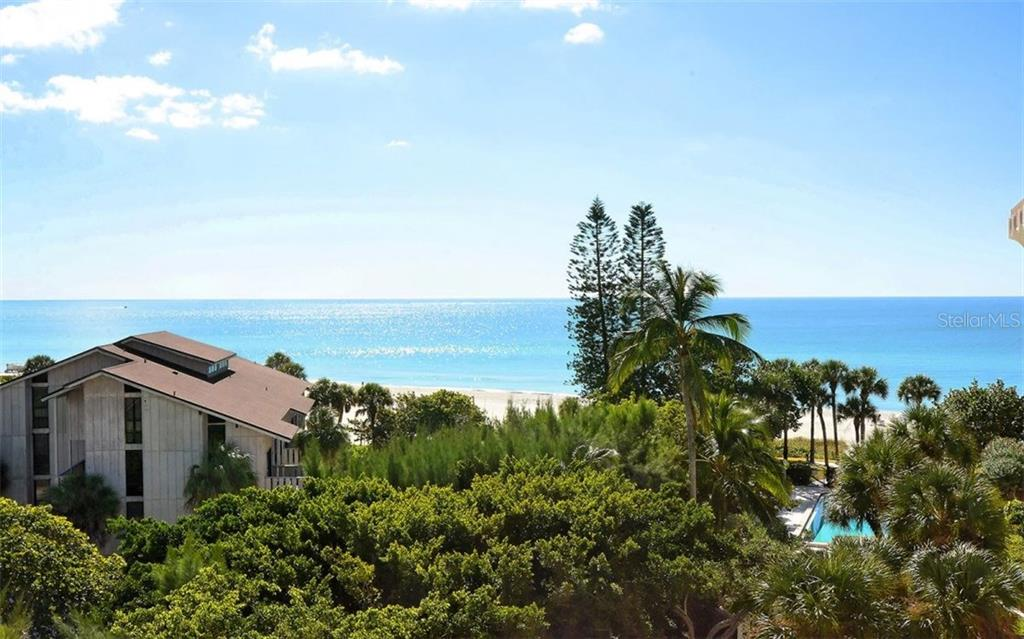 Gulf views from unit - Condo for sale at 1701 Gulf Of Mexico Dr #505, Longboat Key, FL 34228 - MLS Number is A4170632