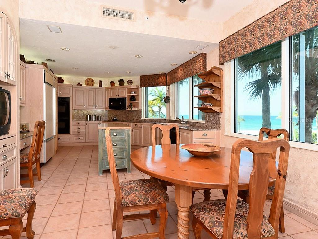 Kitchen - Single Family Home for sale at 655 Longboat Club Rd #13a, Longboat Key, FL 34228 - MLS Number is A4171637