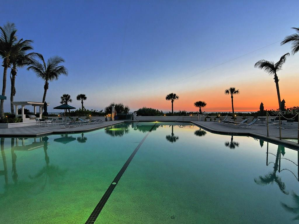 Pool - Single Family Home for sale at 655 Longboat Club Rd #13a, Longboat Key, FL 34228 - MLS Number is A4171637