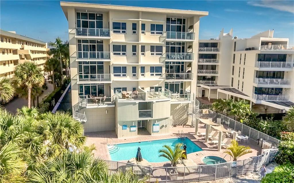 Beach Side Pool - Condo for sale at 6512 Midnight Pass Rd #406, Sarasota, FL 34242 - MLS Number is A4171720