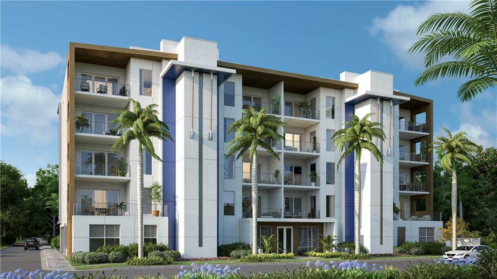 Contemporary Innovation and Style - Condo for sale at 711 S Palm Ave #201, Sarasota, FL 34236 - MLS Number is A4174059