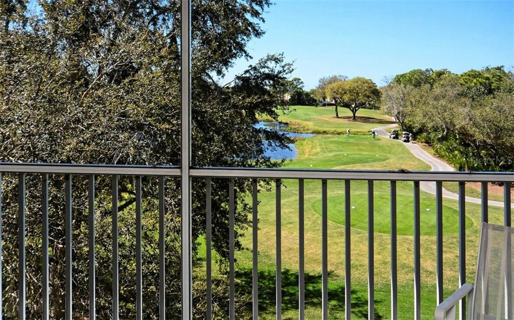 Beautiful fairway and partial lake views from this Stoneybrook 3rd floor condo. - Condo for sale at 8750 Olde Hickory Ave #9305, Sarasota, FL 34238 - MLS Number is A4178271