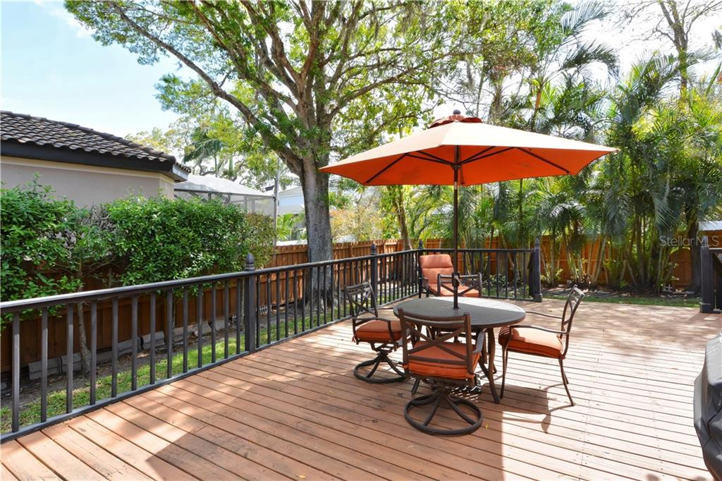 Back Patio - Single Family Home for sale at 1896 Hibiscus St, Sarasota, FL 34239 - MLS Number is A4180775