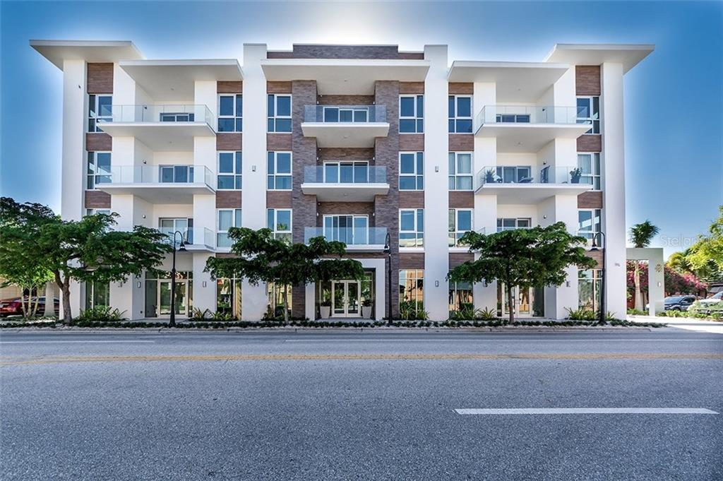 NOW OPEN FOR IMMEDIATE OCCUPANCY WITH ONLY 4 REMAINING CONDO RESIDENCES...ORANGE CLUB DOWNTOWN SARASOTA - Condo for sale at 635 S Orange Ave #205, Sarasota, FL 34236 - MLS Number is A4181970