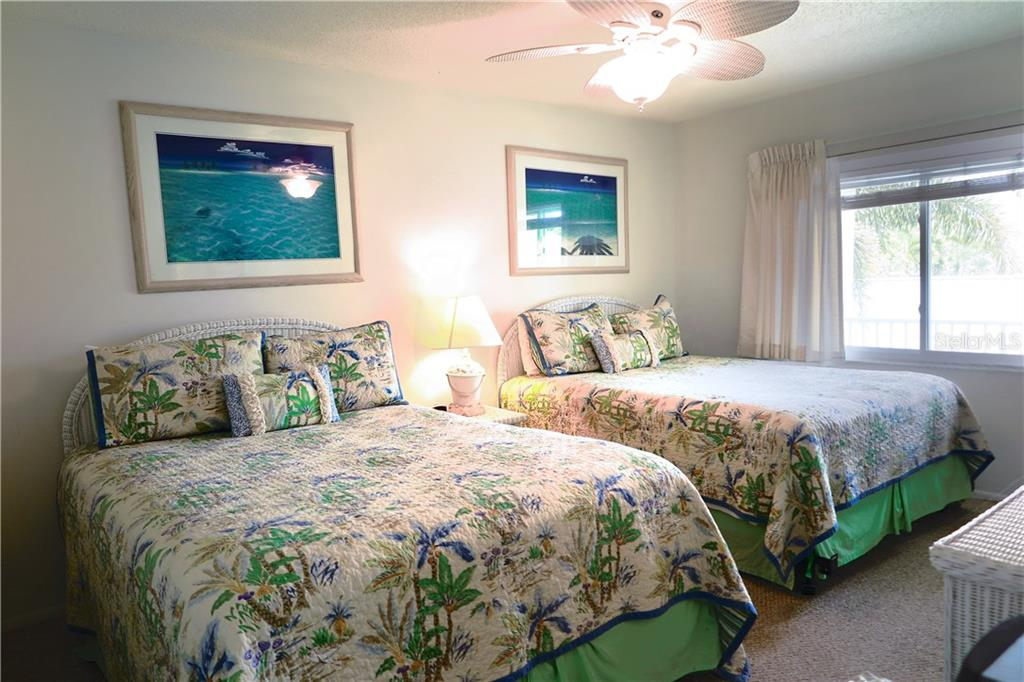 Bedroom - Condo for sale at 100 73rd St #202a, Holmes Beach, FL 34217 - MLS Number is A4184505