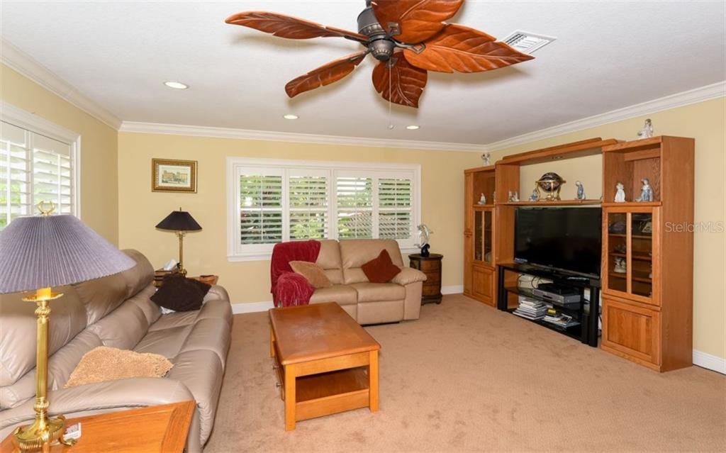Upstairs living room. - Single Family Home for sale at 1627 Shelburne Ln, Sarasota, FL 34231 - MLS Number is A4184556