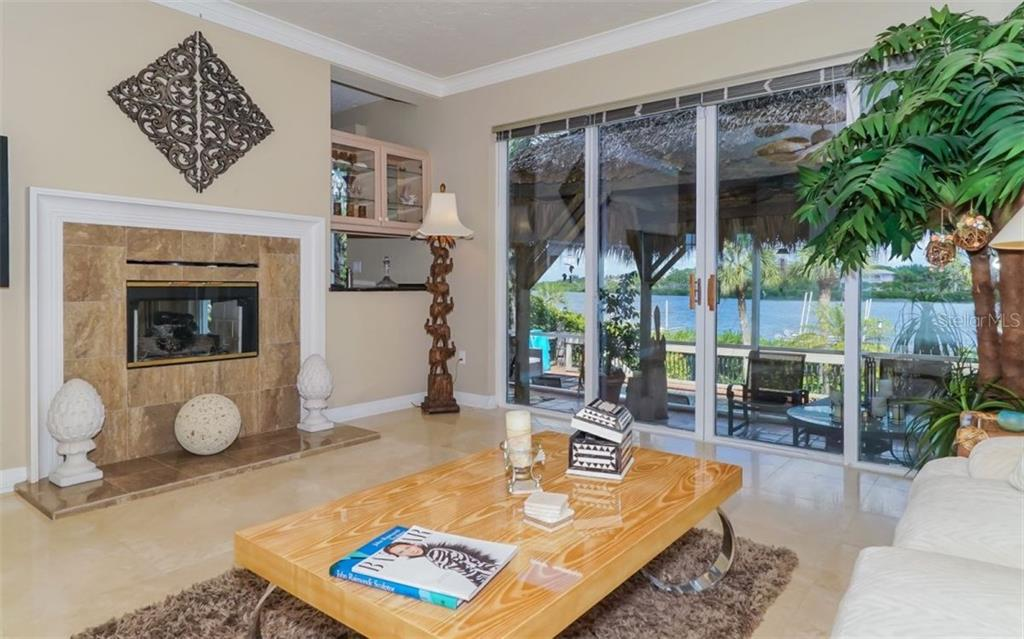 Kitchen And Bay View - Single Family Home for sale at 3380 Gulf Of Mexico Dr, Longboat Key, FL 34228 - MLS Number is A4185604