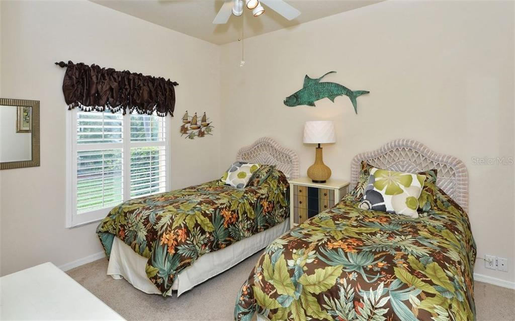 2nd guest room/3rd bedroom - Single Family Home for sale at 4121 Via Mirada, Sarasota, FL 34238 - MLS Number is A4186485