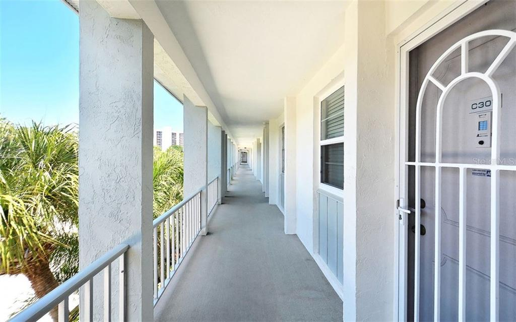 Entrance on Third floor to Condo - Condo for sale at 4330 Falmouth Dr #307, Longboat Key, FL 34228 - MLS Number is A4187329