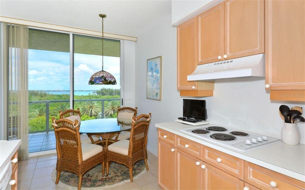View from balcony outside of master bedroom - Condo for sale at 1800 Benjamin Franklin Dr #b507, Sarasota, FL 34236 - MLS Number is A4188540