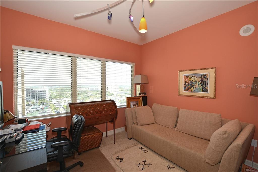 Den, office, or additional guest room. - Condo for sale at 1111 Ritz Carlton Dr #1505, Sarasota, FL 34236 - MLS Number is A4188921