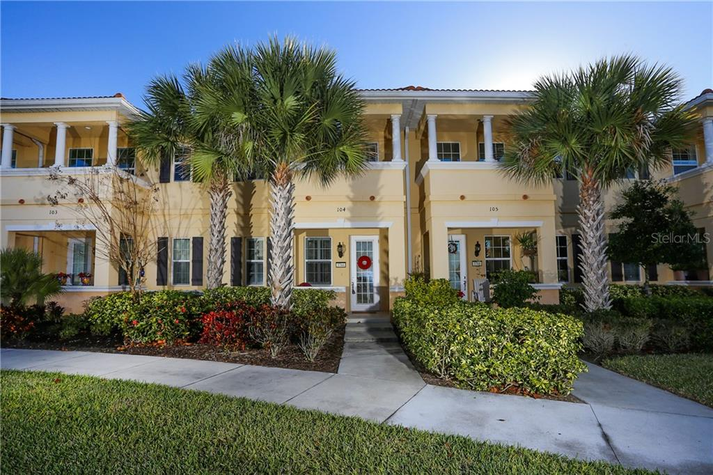 Townhouse for sale at 3766 82nd Avenue Cir E #104, Sarasota, FL 34243 - MLS Number is A4189576