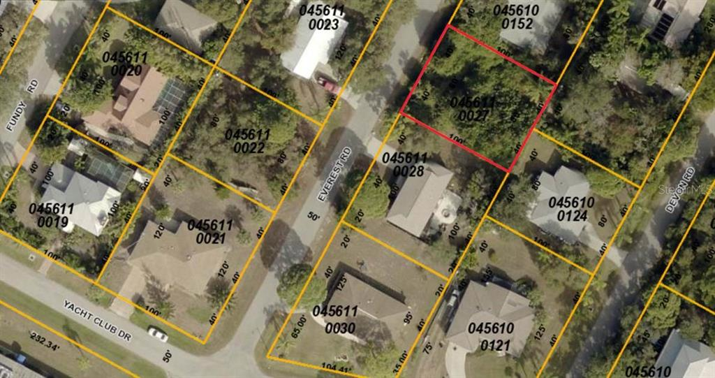 3rd lot on right from intersection of Yacht Club Dr and Everest Rd - Vacant Land for sale at Everest Rd, Venice, FL 34293 - MLS Number is A4190307