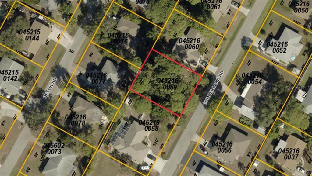 4th lot on left from intersection of Secor Rd and Cumberland Rd - Vacant Land for sale at Cumberland Rd, Venice, FL 34293 - MLS Number is A4190333