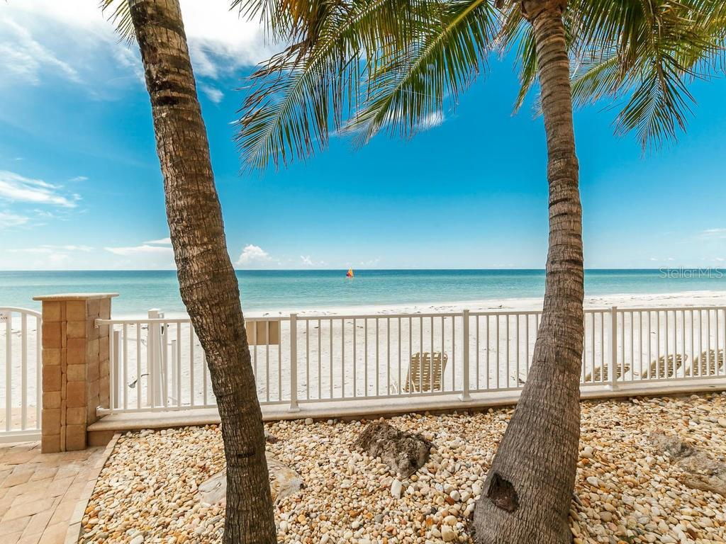 Building Exterior from Gulf Side - Condo for sale at 1750 Benjamin Franklin Dr #5g, Sarasota, FL 34236 - MLS Number is A4192160