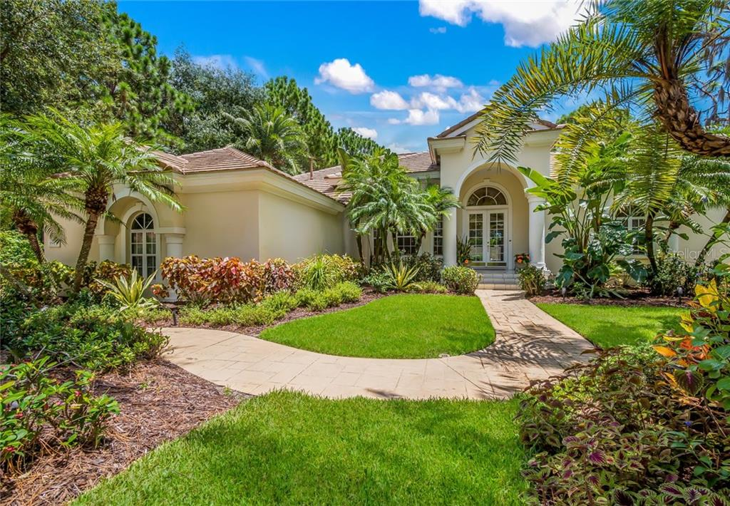 This home is the first home on the left as you enter Richmond Park.  No home to the left and no home behind.  This presents a quiet and private location. - Single Family Home for sale at 8019 Collingwood Ct, University Park, FL 34201 - MLS Number is A4193802