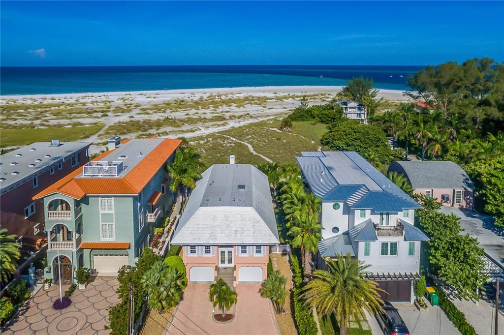 IMAGINE, walk out your back door down to the white sandy beaches on Anna Maria Island and the GULF of MEXICO - Single Family Home for sale at 805 North Shore Dr, Anna Maria, FL 34216 - MLS Number is A4193908
